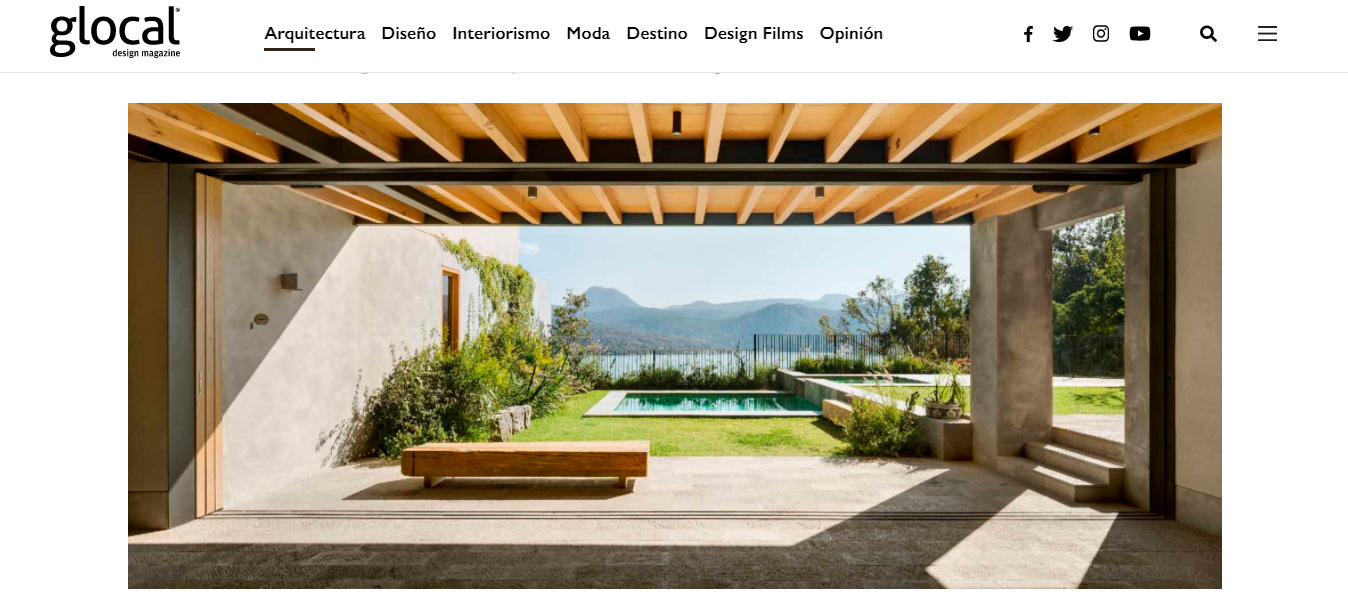 Casa las Cruces en Glocal Design Magazine