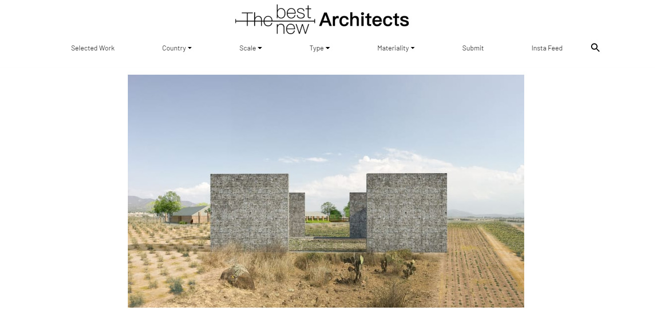 Viñedo El Pedregal en The Best New Architects